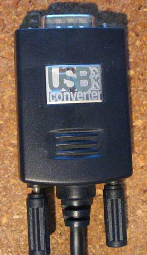 Usb 232 converter model u232-p9